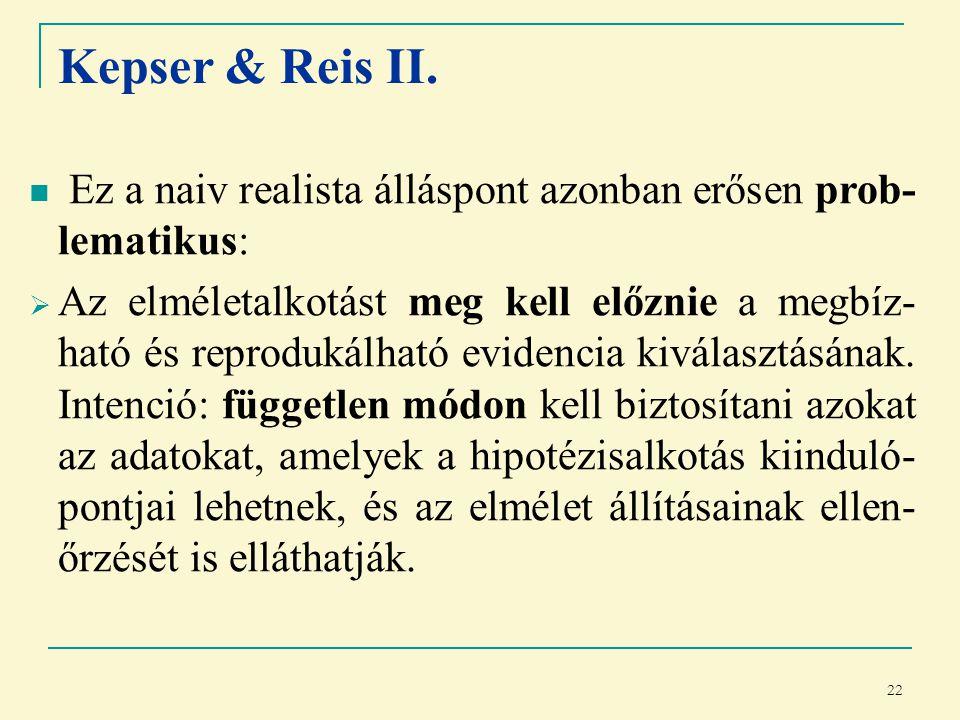 22 Kepser & Reis II.