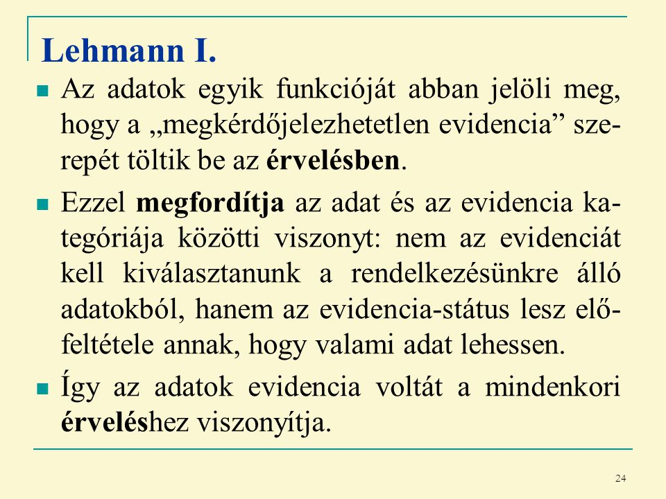 24 Lehmann I.