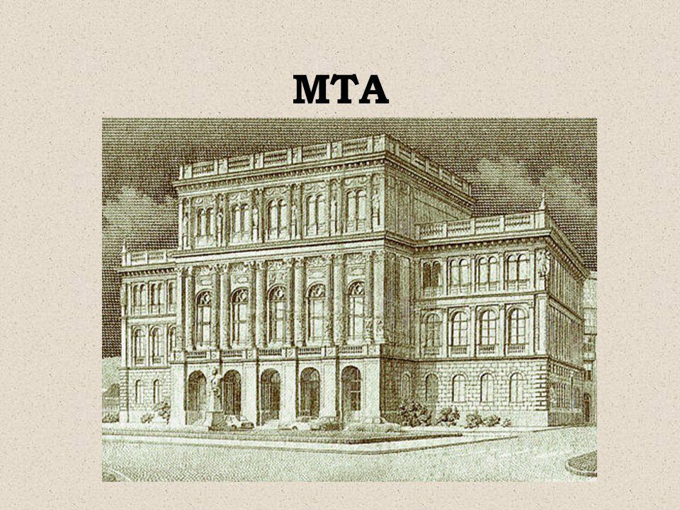 TUDOMÁNY, MŰVÉSZET Pesti Magyar Színház Kisfaludy Társaság MTA