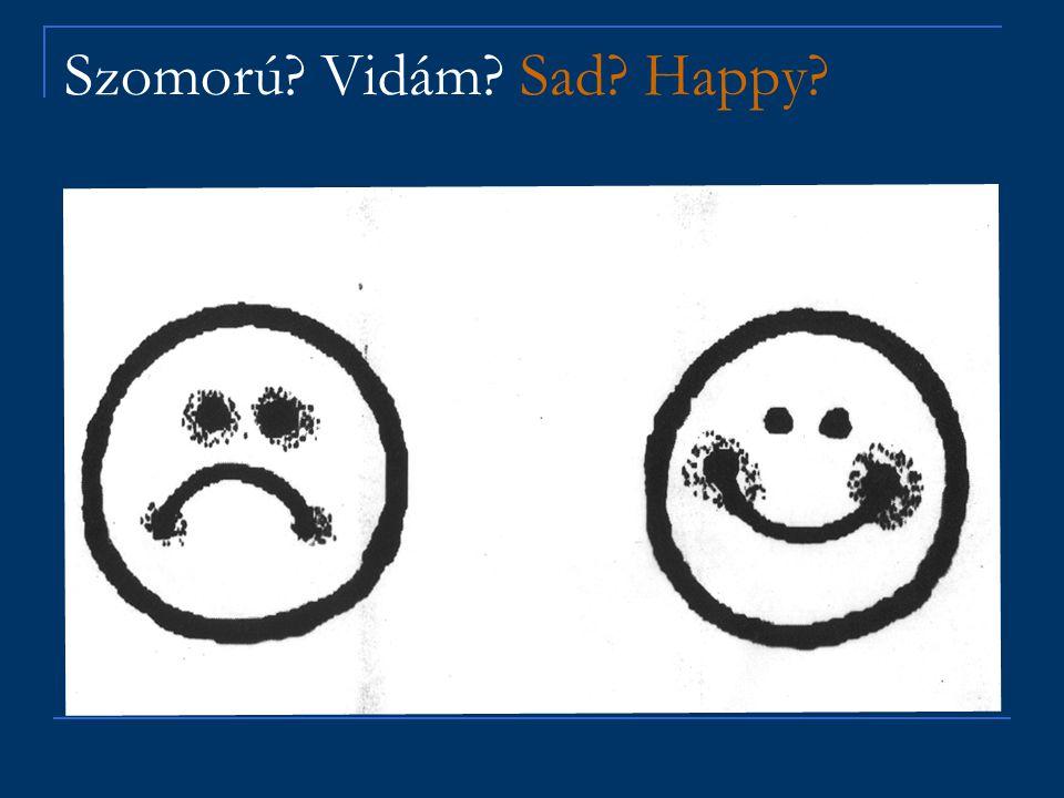 Szomorú? Vidám? Sad? Happy?