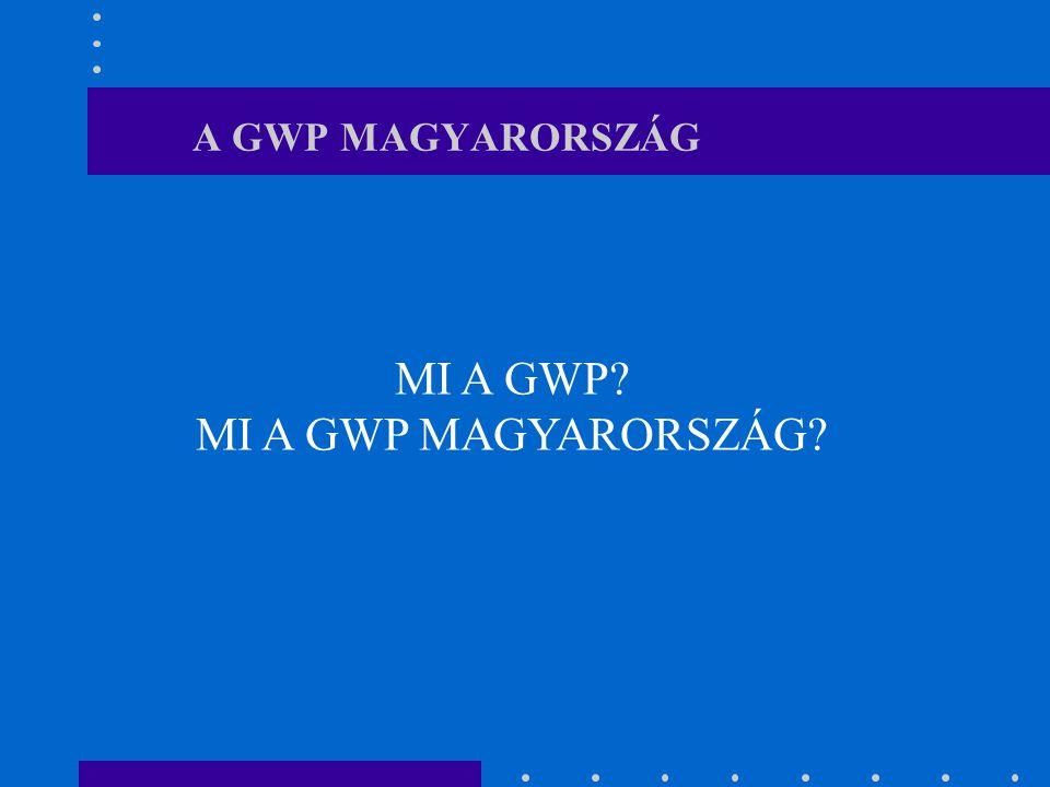 A GWP MAGYARORSZÁG MI A GWP? MI A GWP MAGYARORSZÁG?