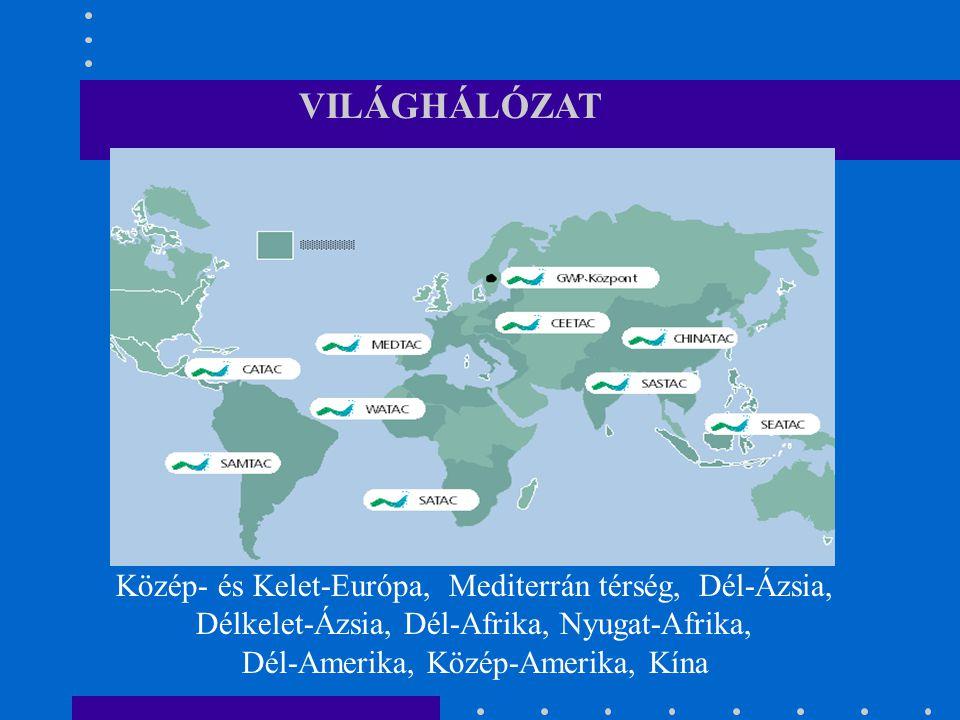 Közép- és Kelet-Európa, Mediterrán térség, Dél-Ázsia, Délkelet-Ázsia, Dél-Afrika, Nyugat-Afrika, Dél-Amerika, Közép-Amerika, Kína VILÁGHÁLÓZAT