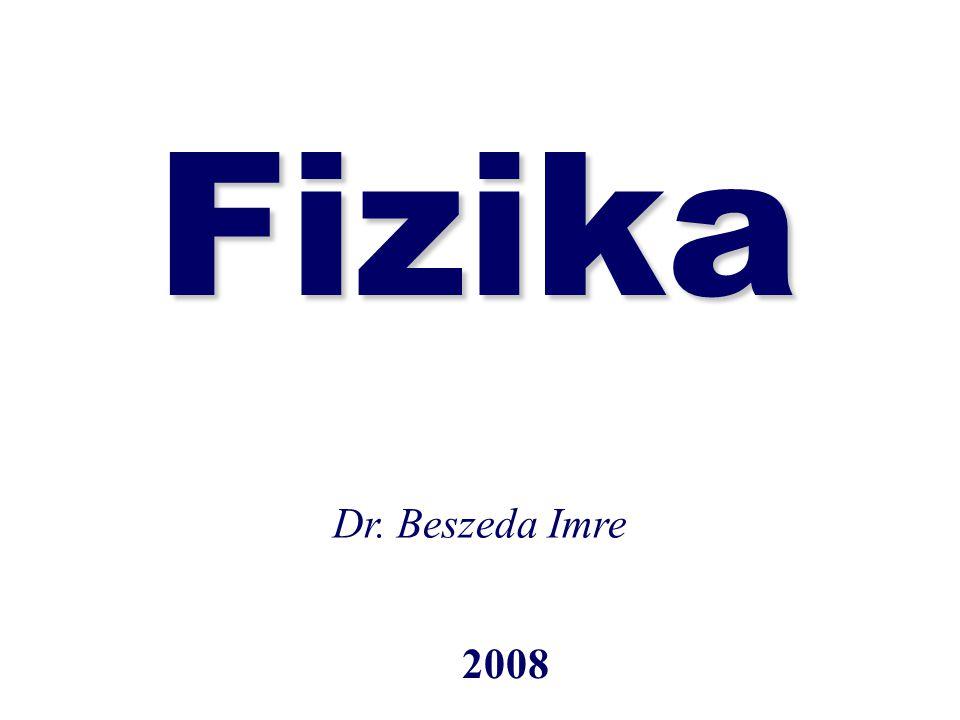 Fizika 2008 Dr. Beszeda Imre