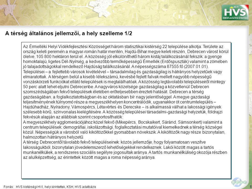 """69 A 10 legfontosabb gazdaságfejlesztési megoldási javaslat 5/10 Forrás:HVS kistérségi HVI, helyi érintettek, HVS adatbázis Szektor ▪""""Egyéb tevékenység A 10 legfontosabb gazdaságfejlesztési megoldási javaslatból a legtöbb – 5 db – a(z) Egyéb tevékenység szektorhoz kapcsolódik 5 ▪""""A helyi fejlesztéseket szolgáló turisztikai stratégia létrehozása, marketing tevékenységek támogatása."""