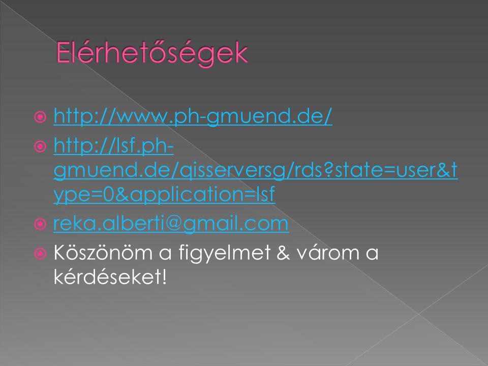  http://www.ph-gmuend.de/ http://www.ph-gmuend.de/  http://lsf.ph- gmuend.de/qisserversg/rds?state=user&t ype=0&application=lsf http://lsf.ph- gmuen