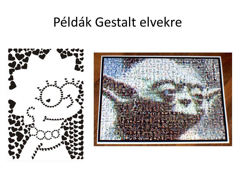 Példák Gestalt elvekre