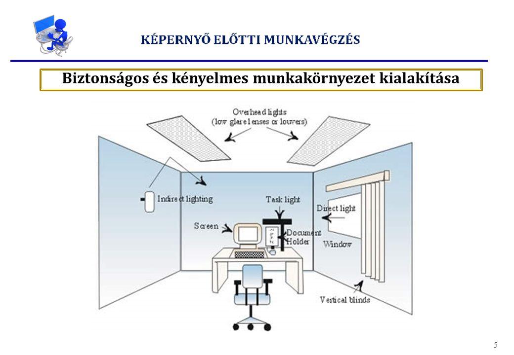 Biztonságos és kényelmes munkakörnyezet kialakítása 5