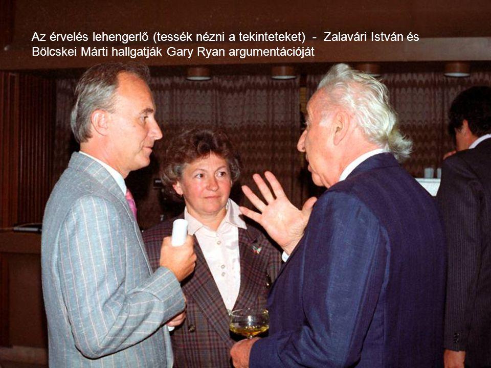 Fritz Puschmann és dr. Palotás Zoltán 1992