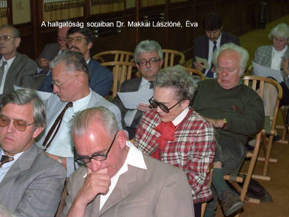A bécsi anyagmegtekintés 1994-ben
