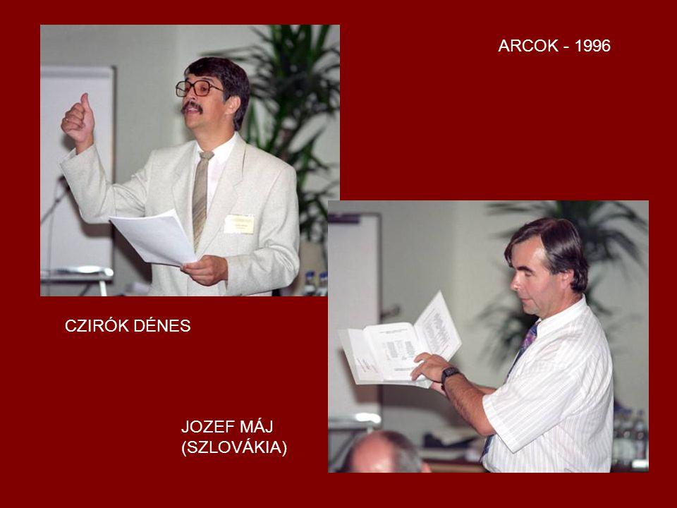 ARCOK 1996 DR. NAGY FERENC (BÉCS) GAZDA ISTVÁN