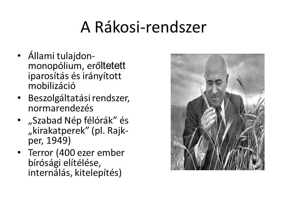 Fordulópont 1952: Magyar írók Rákosi Mátyásról; Lila tinta-vita 1953.