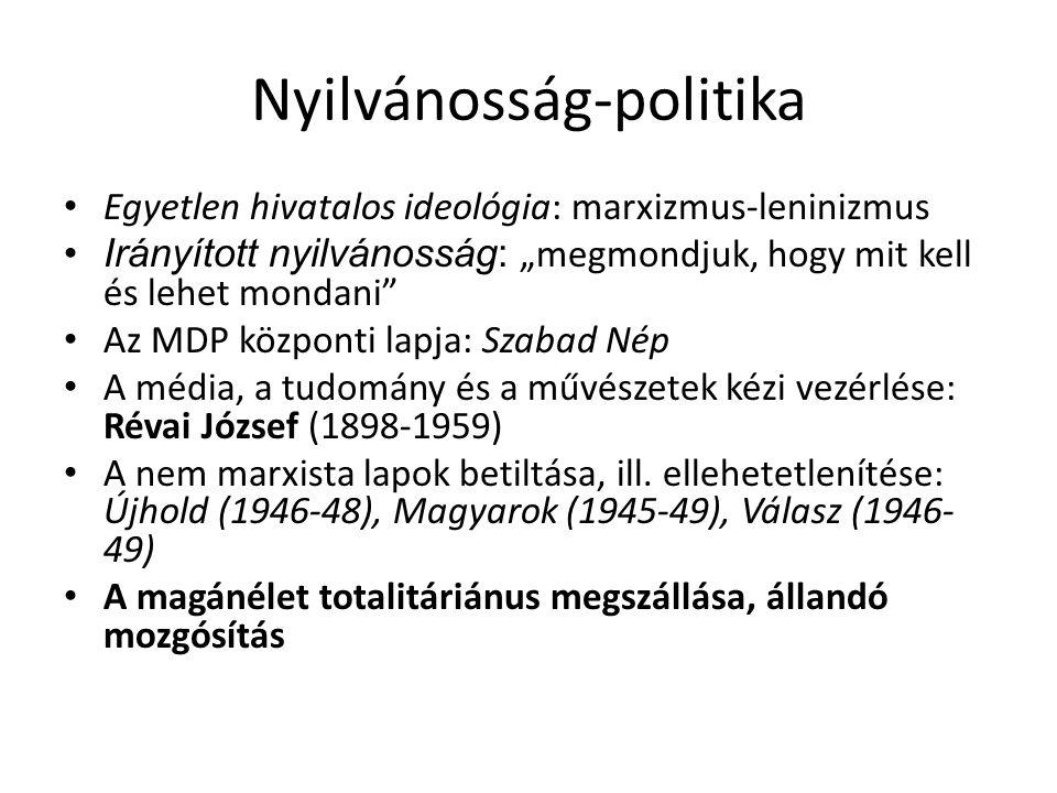 Hivatalos esztétikai doktrína Lukács György (1885- 1971) – a polgári irodalom ideológiai szempontú lebecsülése, a 19-20.