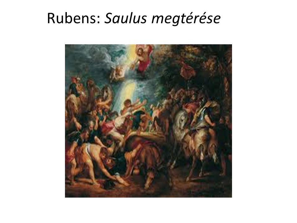 Rubens: Saulus megtérése