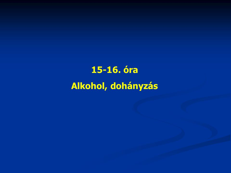 Az alkohol meghatározása A spiritusz, az alkohol orvosi latin neve, mely nem más, mint az etilalkohol (CH 3 -CH 2 -OH).