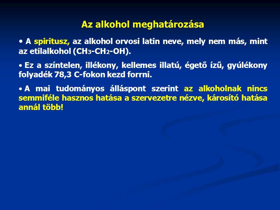 Szinte minden társadalomban fogyasztanak alkoholt, melyet elsősorban gabonafélék, gyümölcsök vagy zöldségek lepárlásával állítanak elő.
