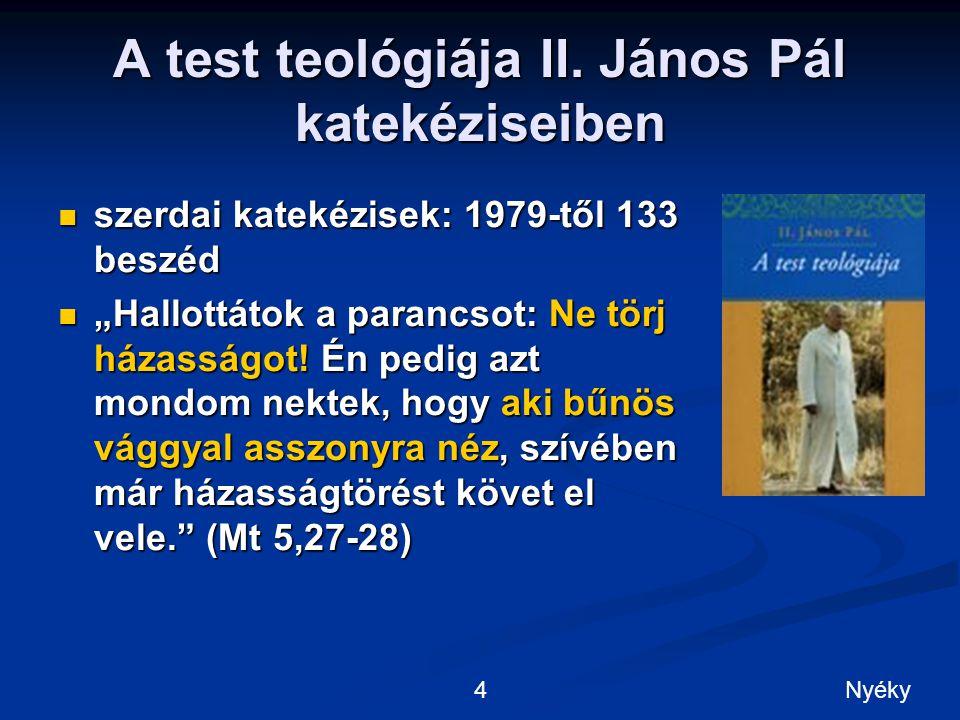 A test teológiája II.