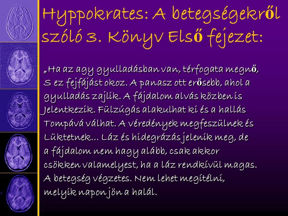 Hyppokrates: A betegségekr ő l szóló 3.