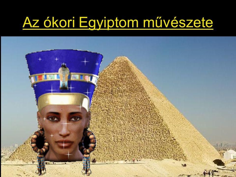 A sziklatemplom Messze délen, a Nílus sziklákkal övezett szűk völgyében nem volt hely nagy épületek építéséhez, a templom tereit kivésték a hegy gyomrából A templomnak nincs tömege, csak belsőtere