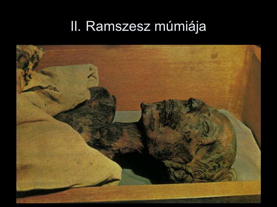II. Ramszesz múmiája