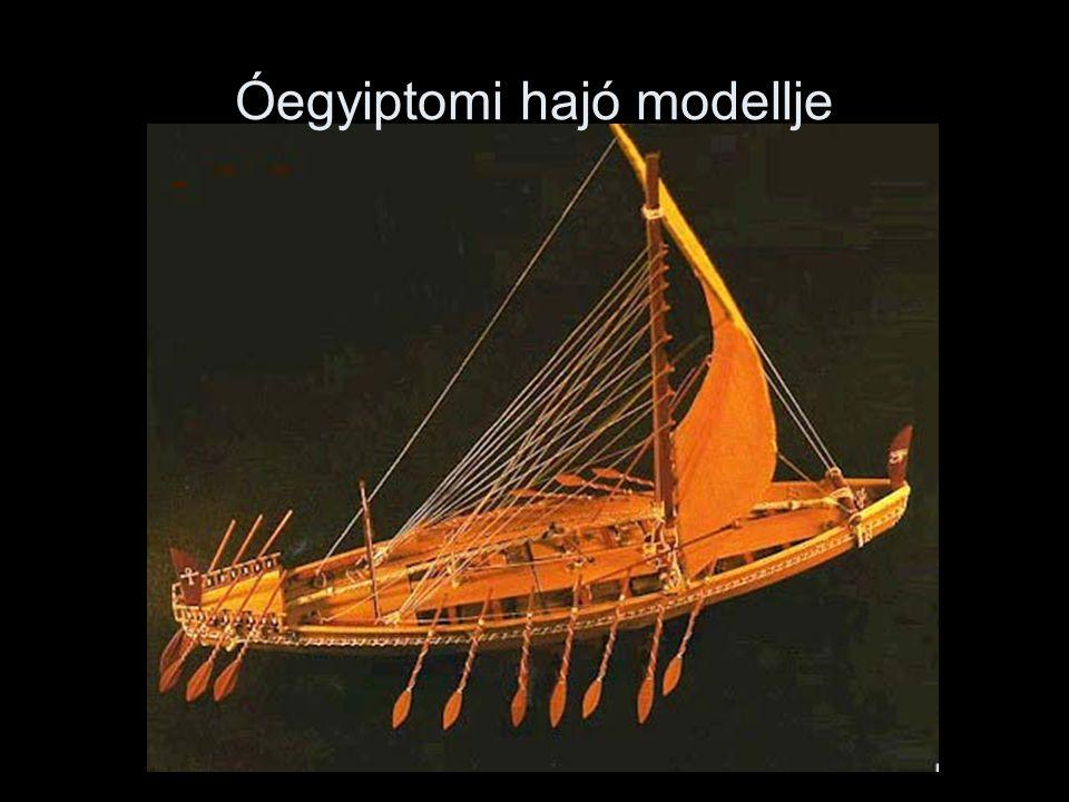 Óegyiptomi hajó modellje