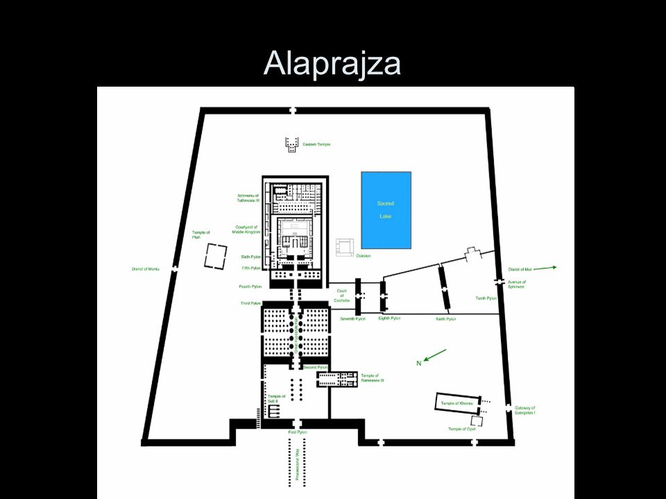 Alaprajza