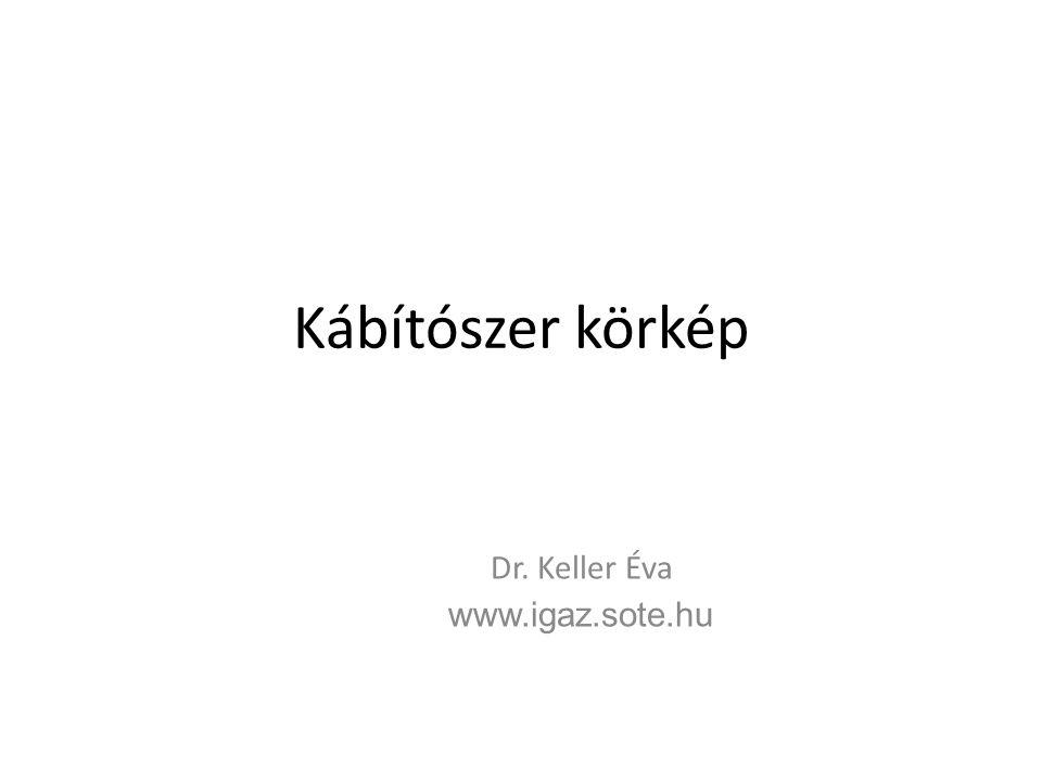 Kábítószer körkép Dr. Keller Éva www.igaz.sote.hu