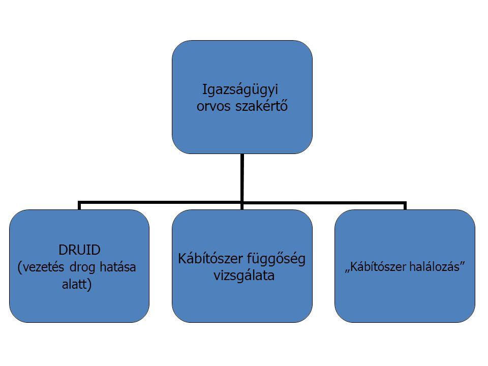 SZUBSTANCIA KONCENTRÁCIÓ - HALÁLOZÁS