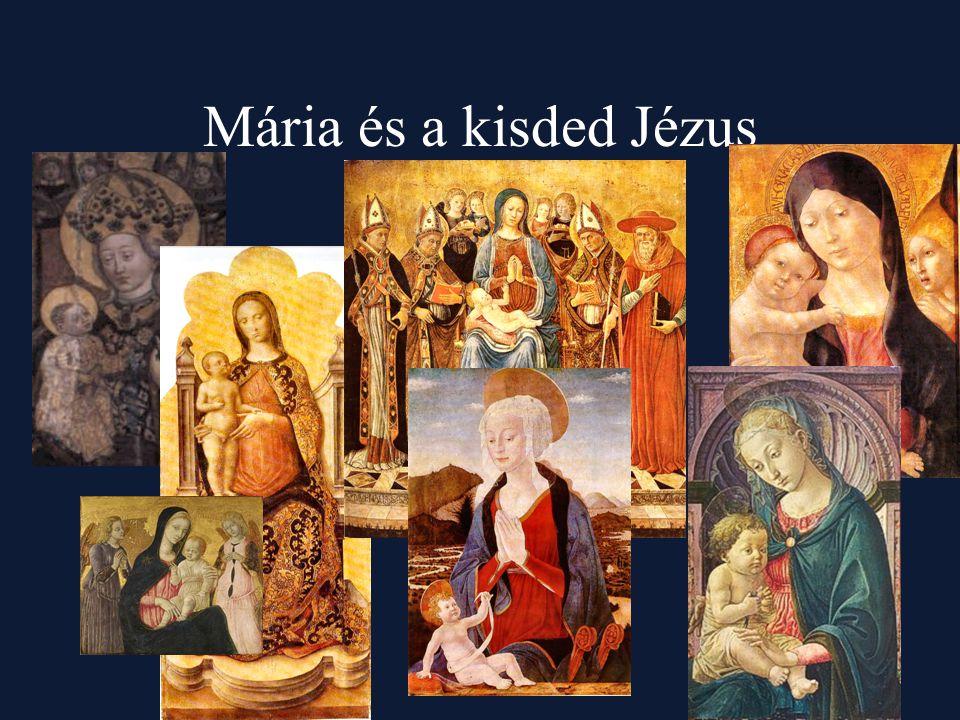 Mária és a kisded Jézus