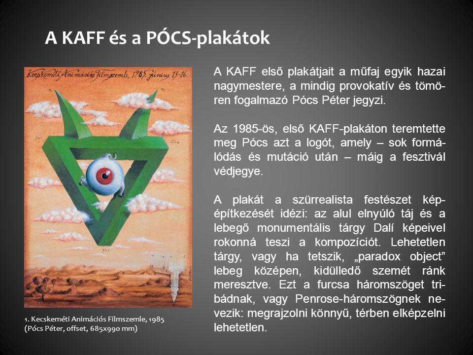 A KAFF és a PÓCS-plakátok 1.