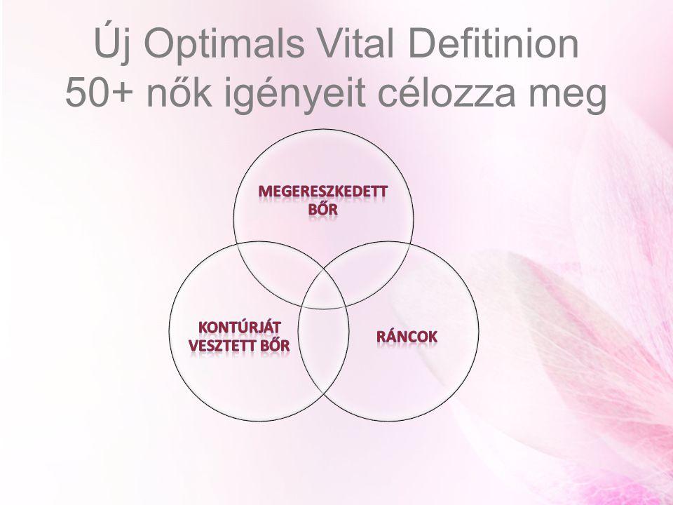 Új Optimals Vital Defitinion 50+ nők igényeit célozza meg