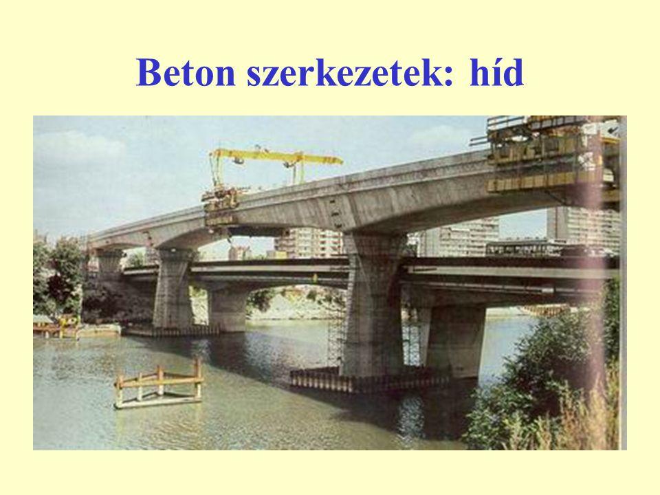 Beton szerkezetek: híd