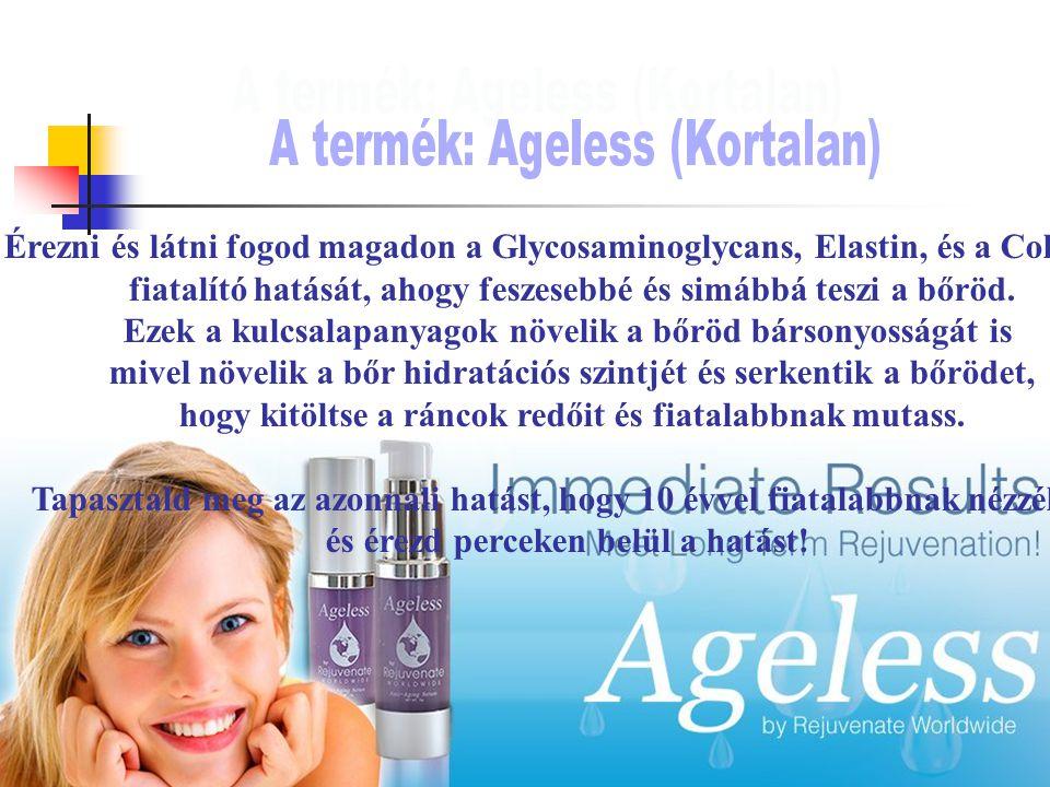 Érezni és látni fogod magadon a Glycosaminoglycans, Elastin, és a Collagen fiatalító hatását, ahogy feszesebbé és simábbá teszi a bőröd.