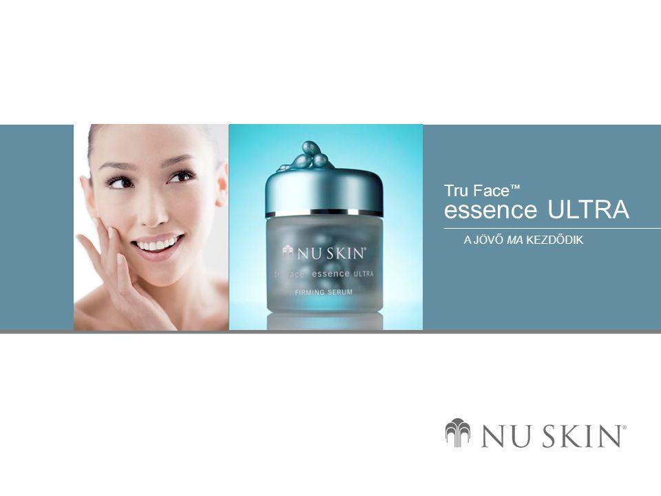 © 2001 Nu Skin International, Inc Tru Face ™ essence ULTRA A JÖVŐ MA KEZDŐDIK Előnyök b) A beépített elasztázgátlók segítségével segít megelőzni az elasztin leépülését.