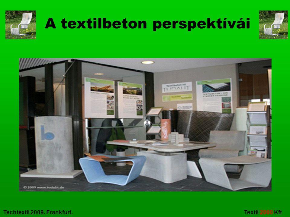 Techtextil 2009. Frankfurt. Textil 2000 Kft A textilbeton perspektívái