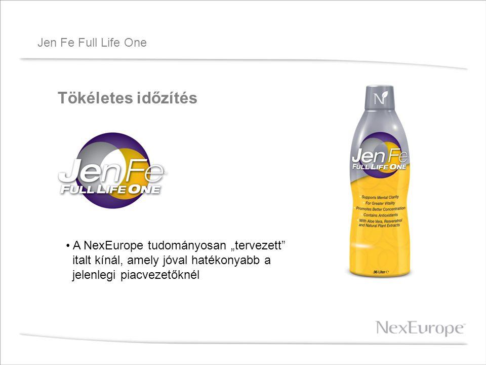 """Jen Fe Full Life One Tökéletes időzítés A NexEurope tudományosan """"tervezett"""" italt kínál, amely jóval hatékonyabb a jelenlegi piacvezetőknél"""