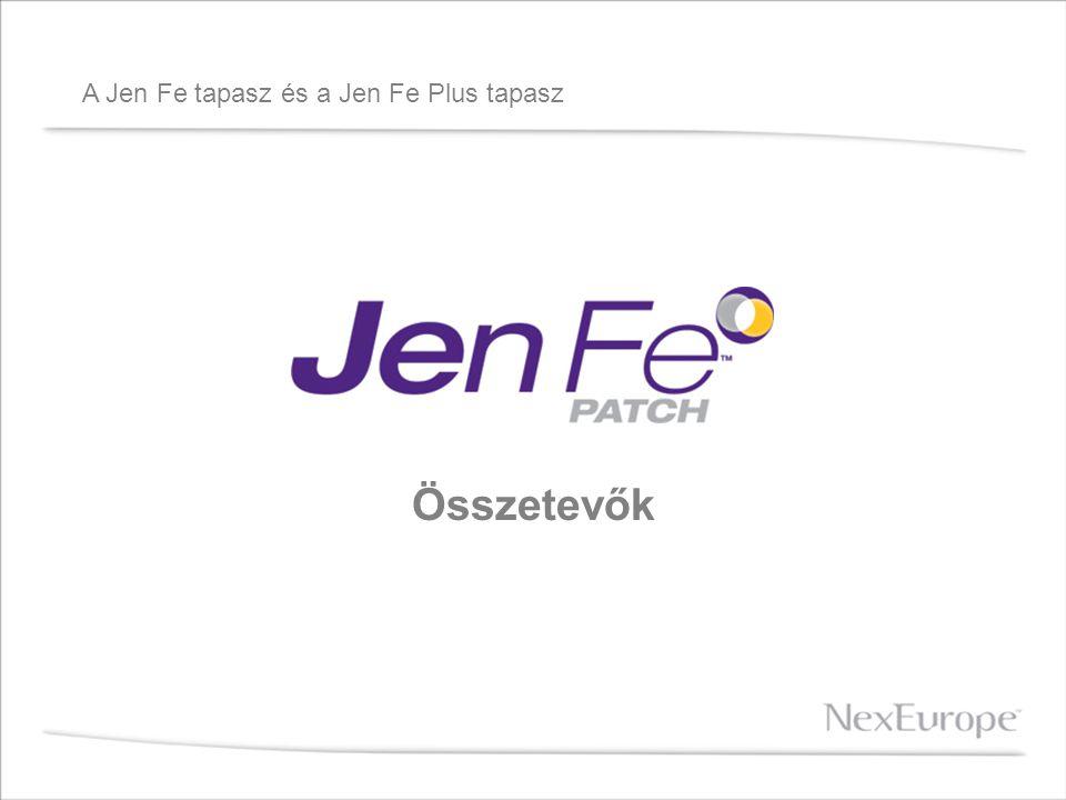 A Jen Fe tapasz és a Jen Fe Plus tapasz Összetevők