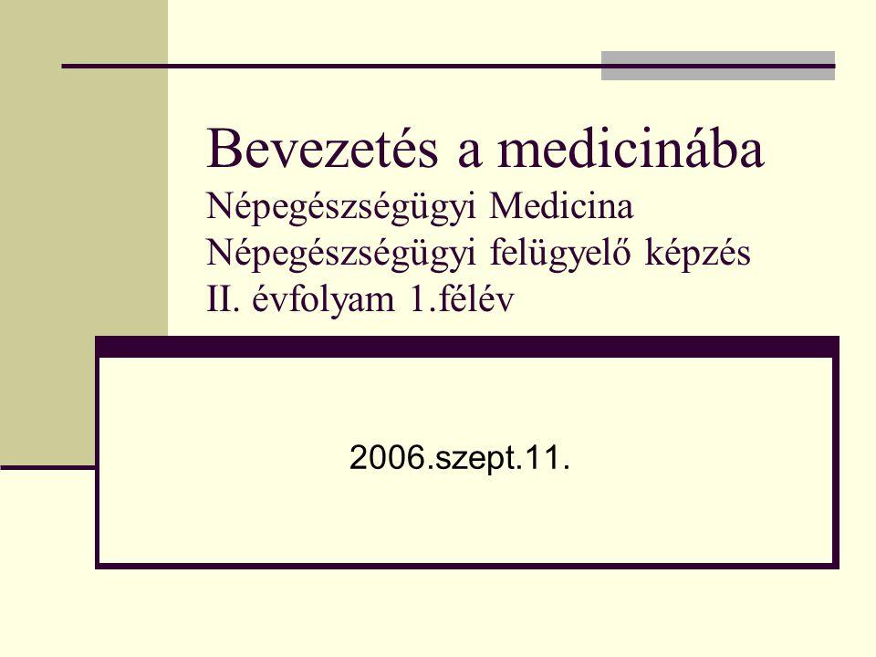 A betegvizsgálat általános szempontjai Eszköz nélküli vizsgálat (helyszíni, oxyológia, háziorvos, stb…) Érzékszervek, tapasztalat, a beteg által elmondottak, környezet Eszközös vizsgálatok (intézményi háttér)