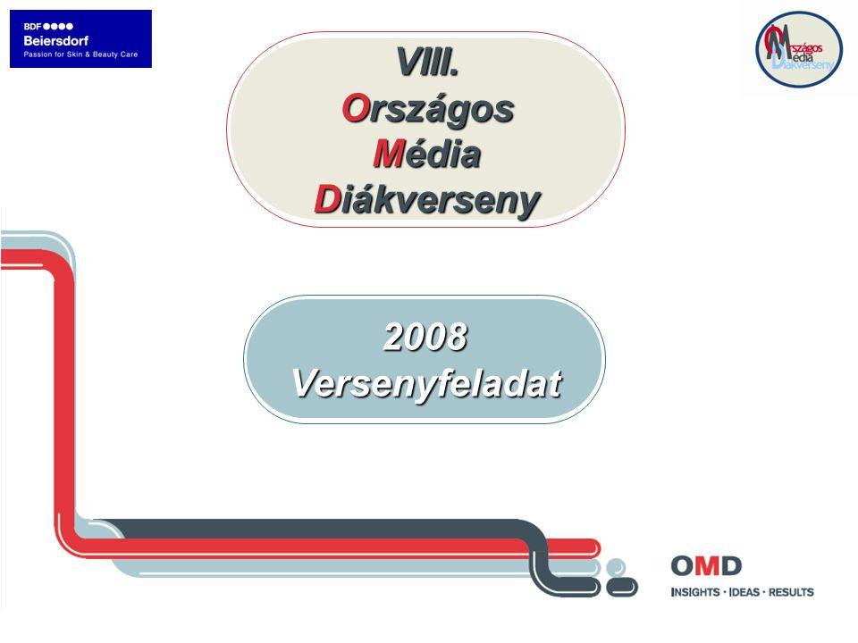 VIII. Országos Média Diákverseny 2008Versenyfeladat