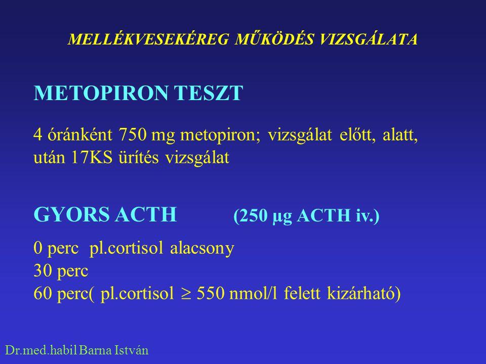 Dr.med.habil Barna István DIFFERENCIÁL DIAGNOSZTIKA HYPOTONIA HYPONATRAEMIA HYPERPIGMENTÁCIÓ
