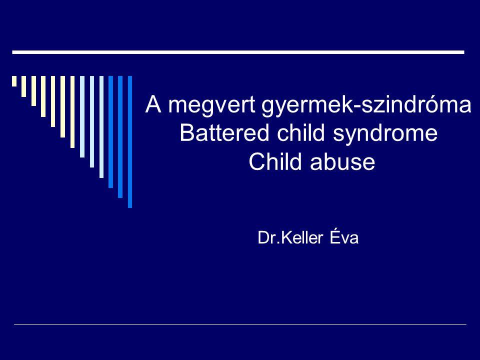 A megvert gyermek tünet- együttes a kiskorú gyermekek olyan klinikai állapota, akik különböző súlyosságú bántalmazást szenvedtek el.