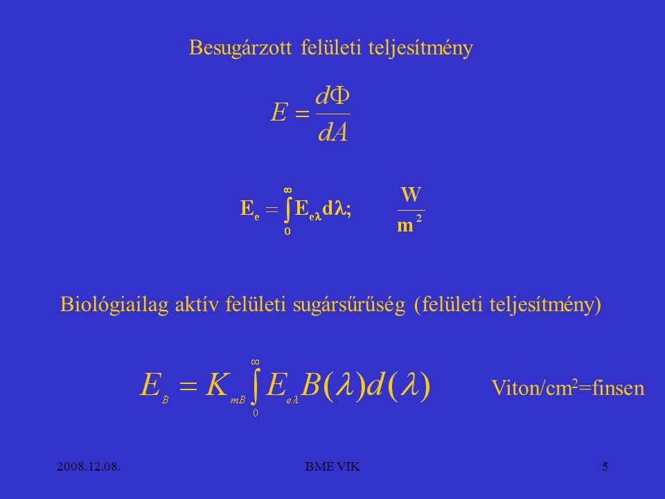 2008.12.08.BME VIK6 Fotobiológiai mennyiségek 3.