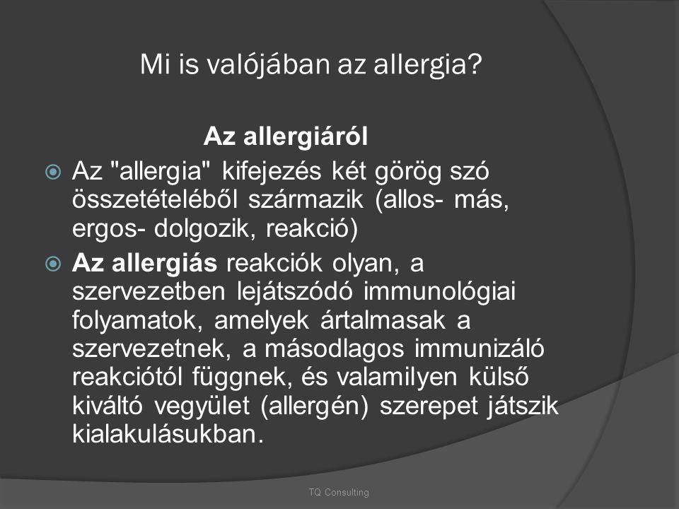 Mi is valójában az allergia? Az allergiáról  Az