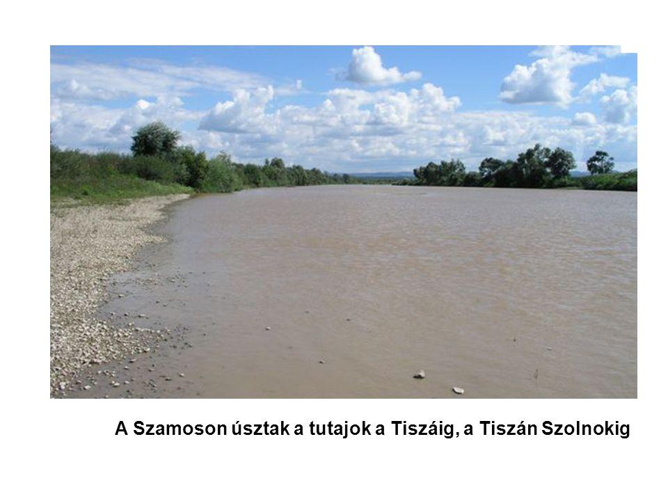 A Szamoson úsztak a tutajok a Tiszáig, a Tiszán Szolnokig