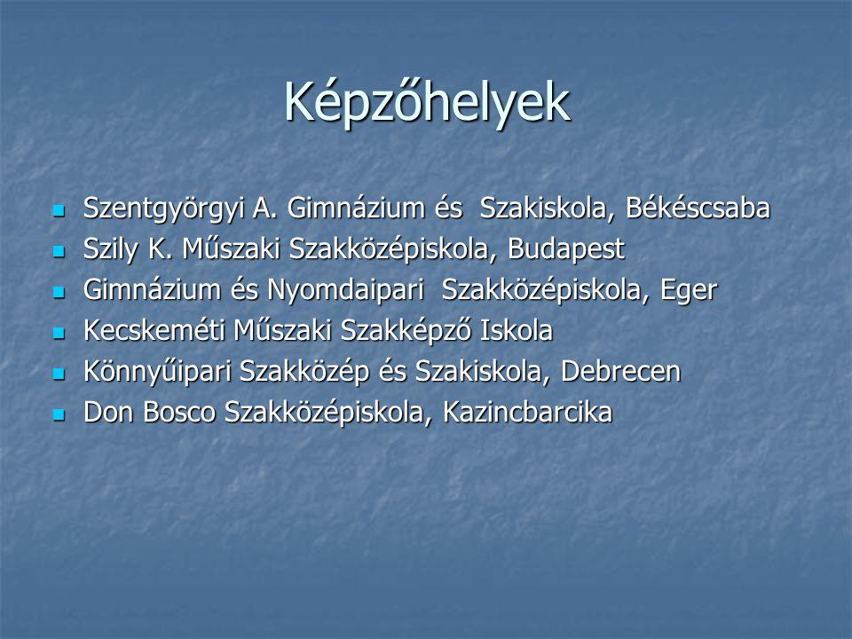 Képzőhelyek Szentgyörgyi A. Gimnázium és Szakiskola, Békéscsaba Szentgyörgyi A.