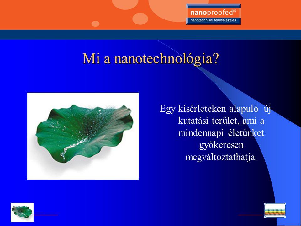 Nanotechnológia Nehéz a felületeket tisztán tartani? Itt van megoldás!