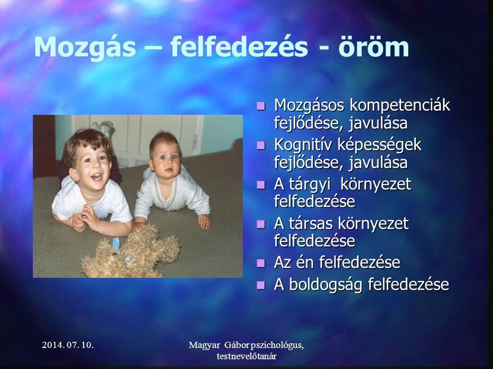 A LÉNY (Kovács Péter 1992) 2014. 07. 10.Magyar Gábor pszichológus, testnevelőtanár
