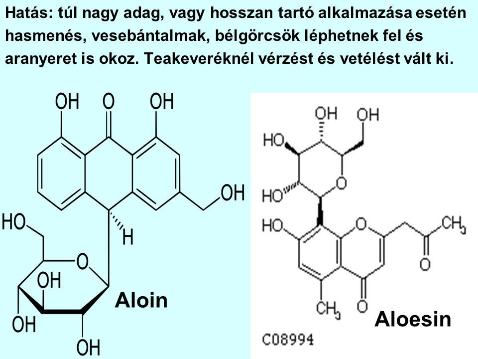Hatás: sejtméreg, kis adagban is véglegesen bénítja a sejtlégzés legfontosabb enzimjeit.