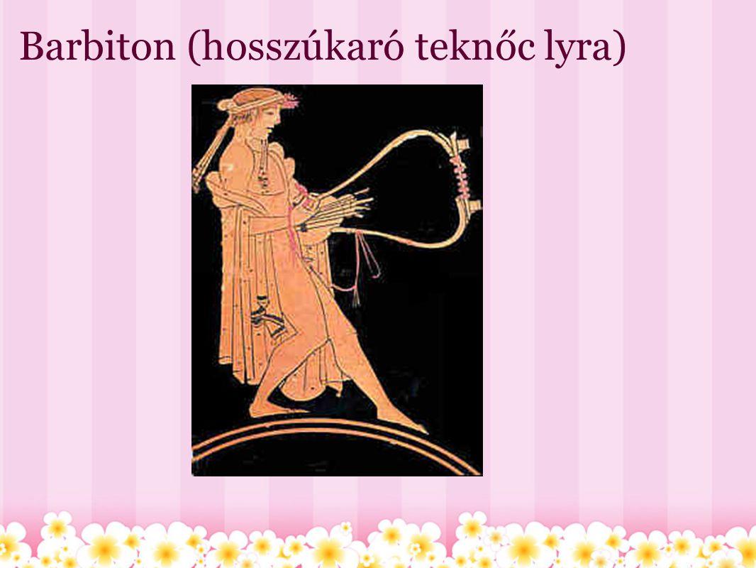 Barbiton (hosszúkaró teknőc lyra)