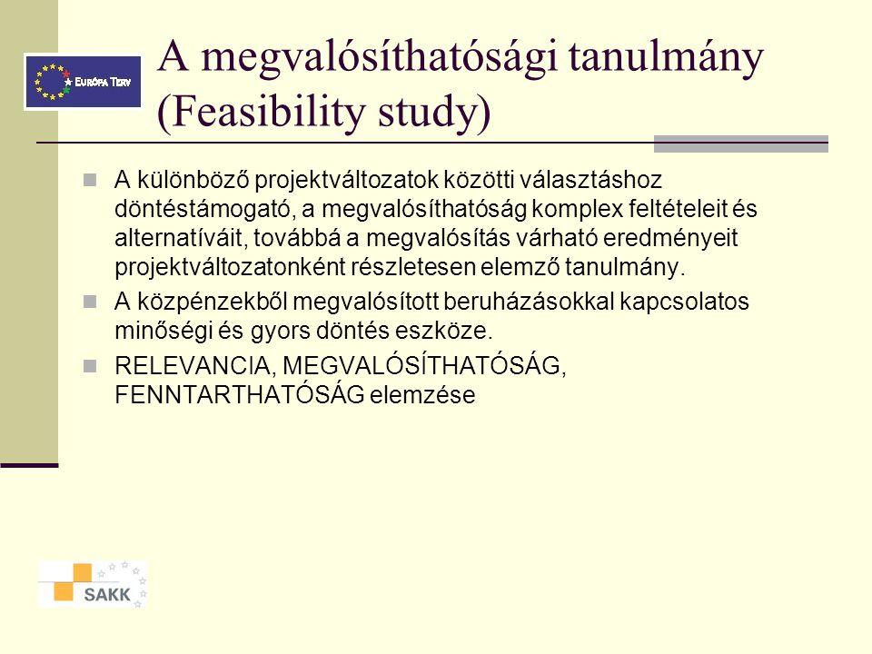Megvalósíthatósági tanulmányok