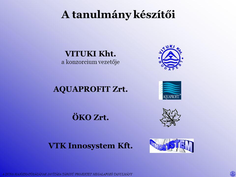 A tanulmányban megoldandó feladatok 1.Mederállapot mérése, hajóút kitűzés 2.A mederállapot javítása, a hagyományos folyamszabályozási módszerű megvalósítás lehetséges alternatíváinak kidolgozása 3.A szabályozás illesztése az egyéb igényekhez, használathoz — az integrált folyógazdálkodás megtervezése 4.Ivóvízkészlet, parti szűrésű kutak–a vízbázisok védelme 5.Jéglevezetés 6.A hajóút kitűzése, közzététel 7.A folyó menti természeti értékek védelme, ökológiai rehabilitáció 8.A víziúthoz kapcsolódó rekreáció és turizmus 9.Megvalósíthatósági tanulmány, költség-haszon elemzés A DUNA HAJÓZHATÓSÁGÁNAK JAVÍTÁSA TÁRGYÚ PROJEKTET MEGALAPOZÓ TANULMÁNY